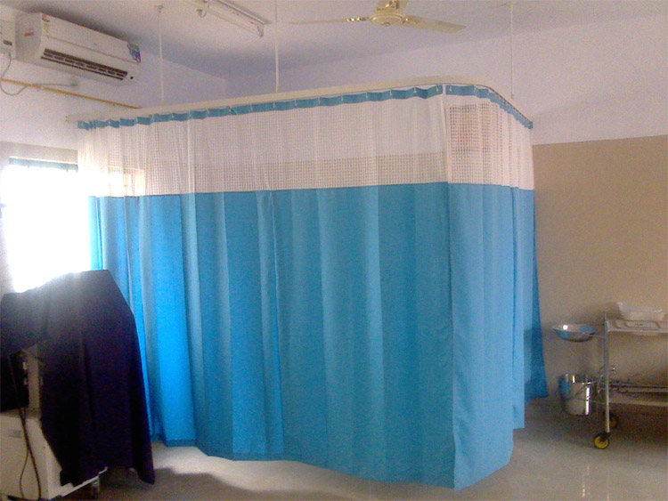 Fastener Cubicle Curtains Hospital Curtain Tracks Medical Curtains